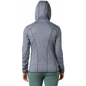 Columbia Baker Valley Chaqueta Polar Capucha Mujer, charcoal heather
